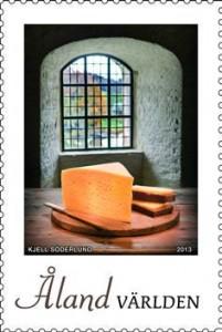 Kastelholm juusto postimerkki