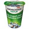 Andechser Natur 400g mustikka-mustaherukka jogurtti
