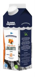 Ahvenanmaan tyrni-vanilja jogurtti 1kg